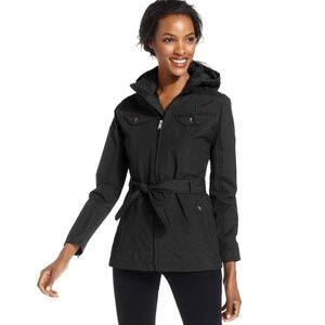 The North Face Hooded Belted Raincoat